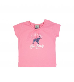 Tee-shirt bébé fille POTTOK RIDE