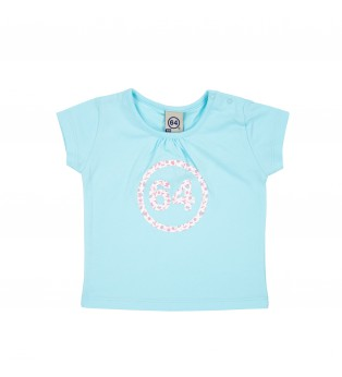 Tee-shirt bébé fille LOGO BERTY 64
