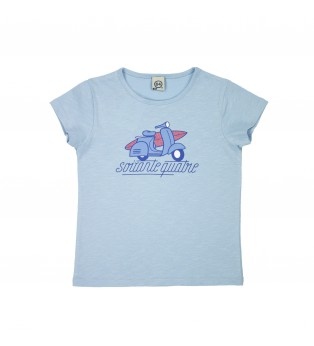 Tee-shirt fille BEACH VESPA