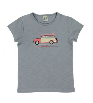Tee-shirt fille WOODY WAGON