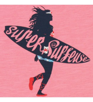 Tee-shirt fille SUPER SURFEUSE