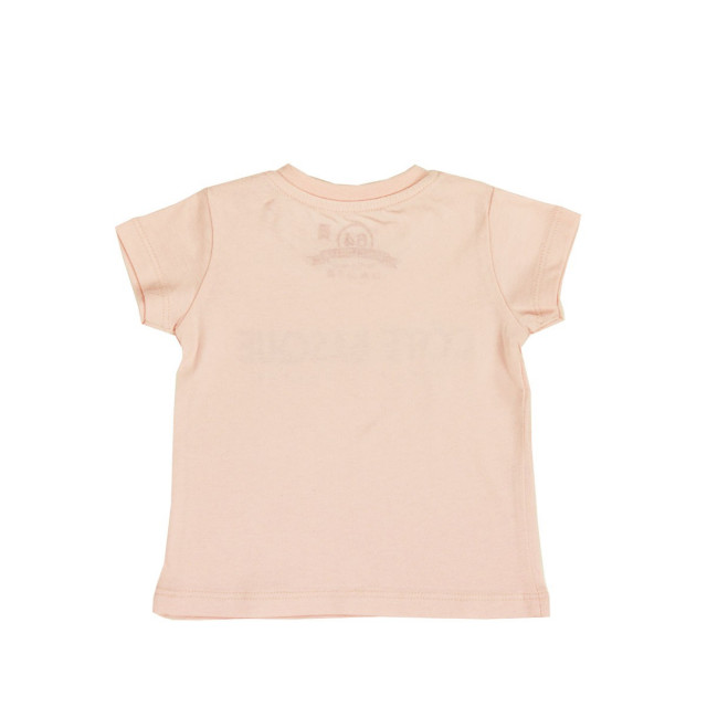 Tee-shirt bébé TYPO BASQUE rose
