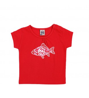 Tee-shirt bébé FISH FLOWER