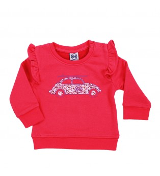 Sweat bébé fille BB COX