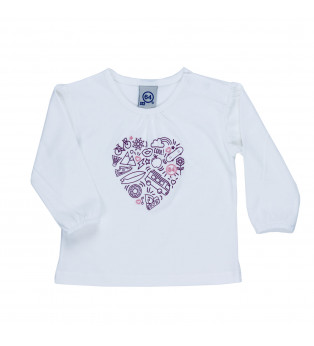 Tee-shirt bébé Fille ALWAYS LOVE