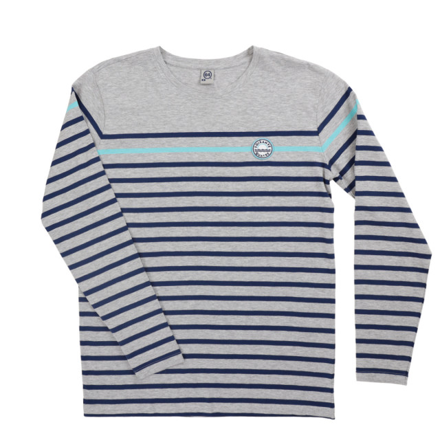 Tee-shirt homme PSO PATCH gris