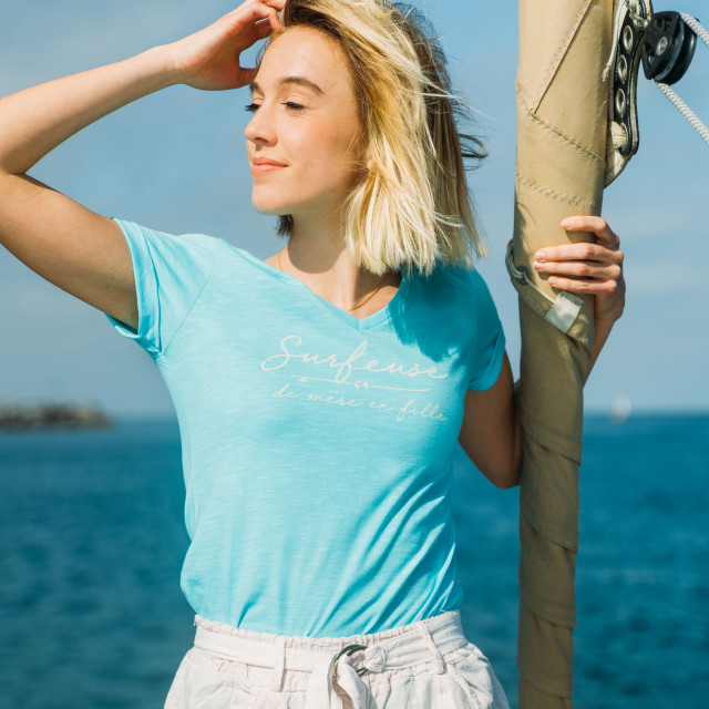 Tee-shirt femme SURFEUSE MERE FILLE