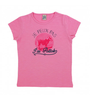 tee-shirt fille POTTOK RIDE