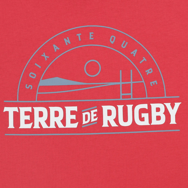 Tee-shirt homme RUGBY TERRE