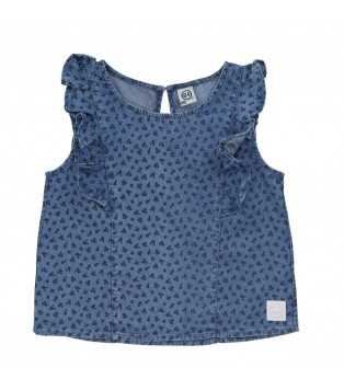 Blouse fille ANEMONE