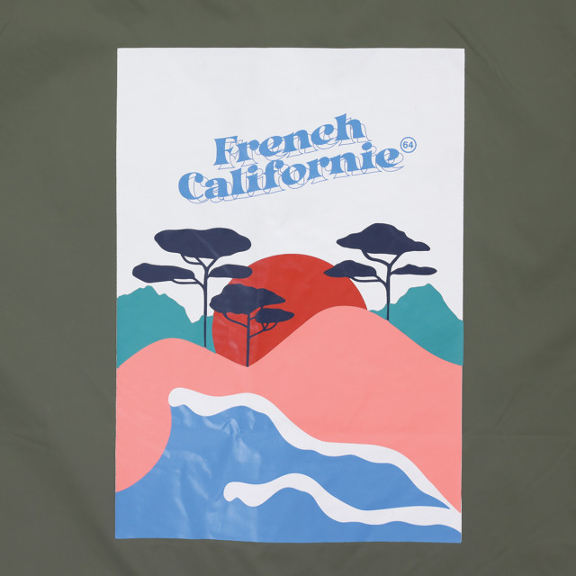 Coupe vent FRENCH CALIFORNIE