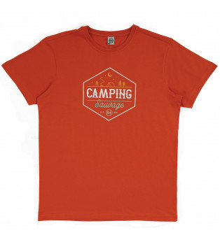 Tee-shirt homme CAMPING SAUVAGE