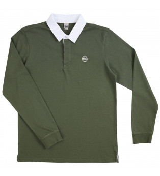 Polo homme RUGBY SILHOUETTE