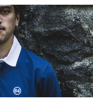 Polo rugby homme STRIPE NUMBER