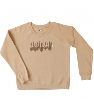 Sweat femme FORET FRONT