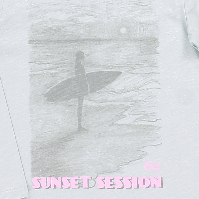 Tee-shirt fille SUNSET SESSION