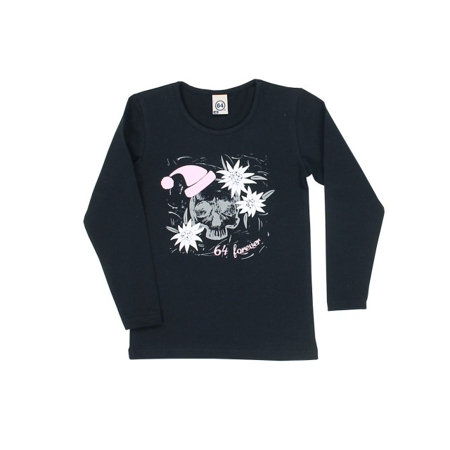 Tee-shirt fille WINTER SKULL