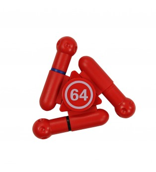 Stylo Spinner rouge