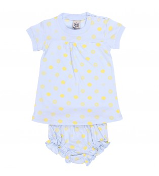 Ensemble bébé ALLOVER CITRON