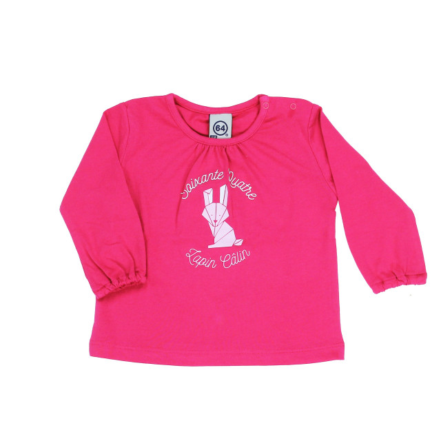 Tee-shirt bébé LAPIN CALIN